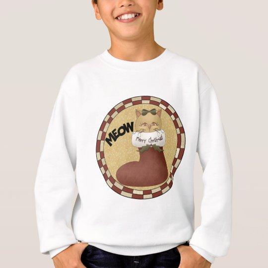 Christmas Cat Sweatshirt