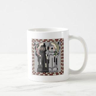 Christmas Cats Coffee Mugs