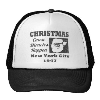 Christmas Cause Miracles Happen Trucker Hat