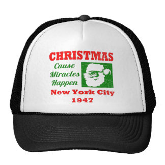 Christmas Cause Miracles Happen Hat