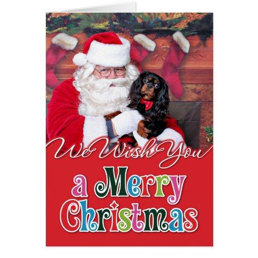 Christmas - Cavalier King Charles Spaniel - Spence Greeting Cards