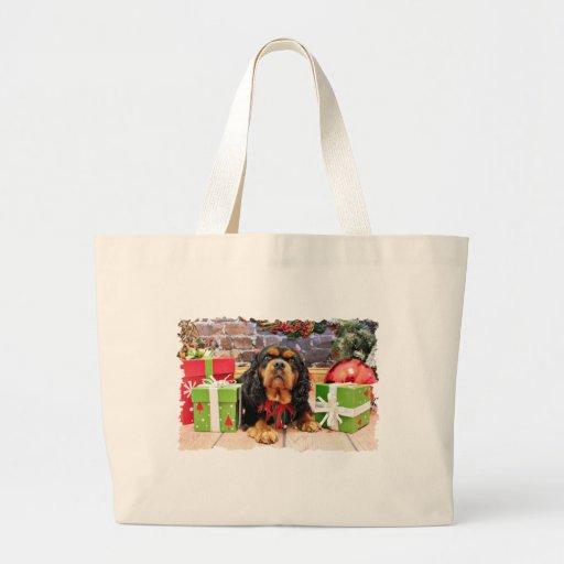 Christmas - Cavalier King Charles Spaniel SweetPea Bags