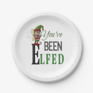 Christmas Celebration PAPER PLATES 7 Inch Paper Plate