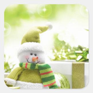Christmas Celebrations 3 Square Sticker
