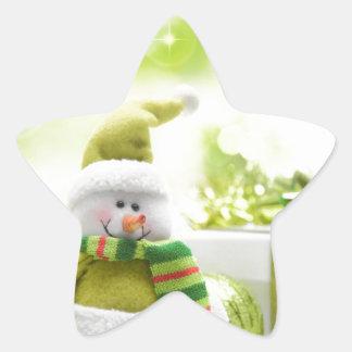 Christmas Celebrations 3 Star Sticker
