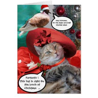 CHRISTMAS CELEBRATIONS OF PRINCESS TATUS CAT CARDS