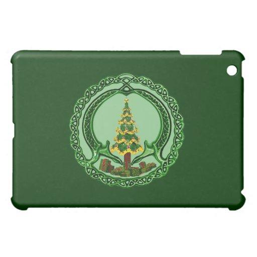 Christmas Chaddagh iPad Mini Cover