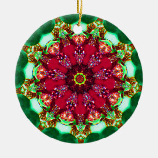 Christmas Chandelier Fractal Christmas Ornament