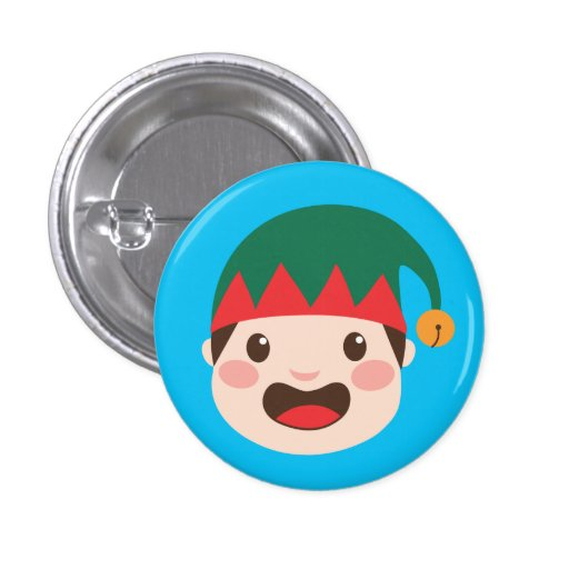 Christmas Character Faces Pins