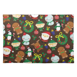 Christmas Characters Placemat