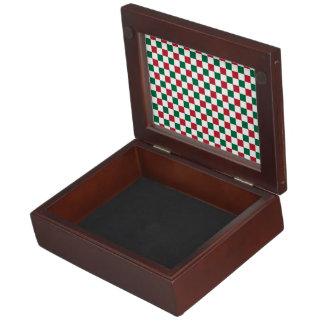 Christmas Checkerboard Memory Box
