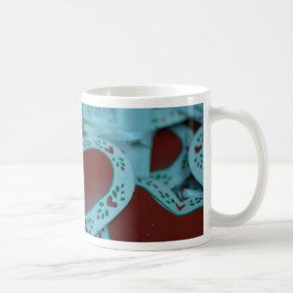 Christmas cheer decoration heart mugs