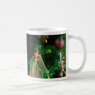 Christmas cheer decoration tree basic white mug