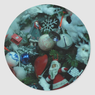 Christmas cheer decoration tree stickers