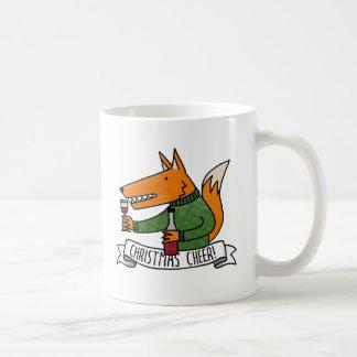 Christmas Cheer Fox Coffee Mug