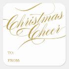 CHRISTMAS CHEER   HOLIDAY GIFT TAGS