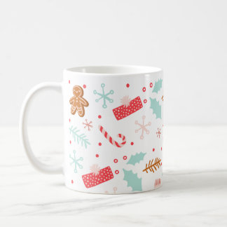 Christmas Cheer Holiday Pattern Mug