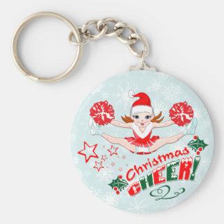 Christmas Cheer Key Ring
