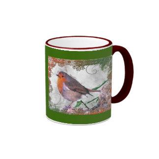 Christmas Cheer Ringer Mug