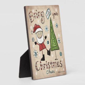 Christmas Cheer Plaque