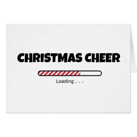 Christmas Cheer - Progress Bar - Loading Card