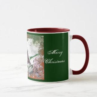 Christmas Cheer Robin Mug