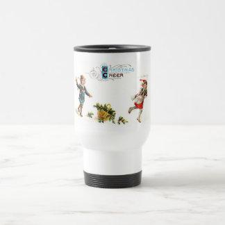 Christmas Cheer Snowball Toss Coffee Mug