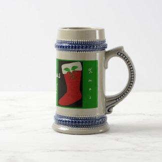 Christmas Cheers Stocking Mug Customizable