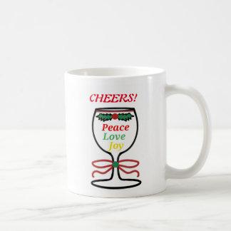 Christmas Cheers Wine Glass, Mug