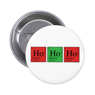 Christmas Chemistry 6 Cm Round Badge