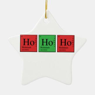 Christmas Chemistry Christmas Ornament