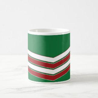 Christmas Chevron Customizable Mug