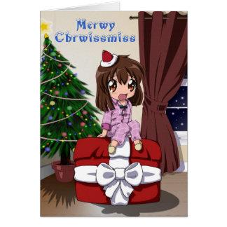 Christmas Chibi Anime Cards