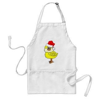 Christmas chick aprons