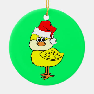 Christmas chick christmas ornament