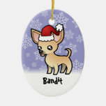 Christmas Chihuahua (add your pets name)