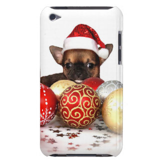 Christmas Chihuahua Barely There iPod Covers