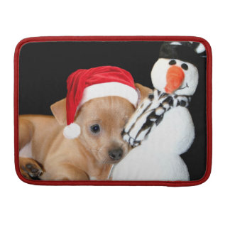 Christmas Chihuahua Macbook Pro 13 sleeve Sleeves For MacBook Pro