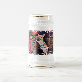 Christmas - Chihuahua - Matty Beer Steins
