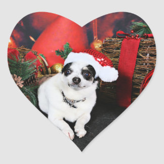 Christmas - Chihuahua X - Stella Sticker