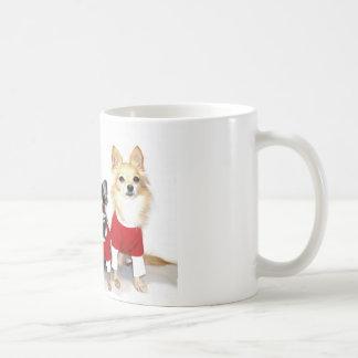 Christmas Chihuahuas Basic White Mug