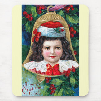 Christmas Child 2 Mouse Pad