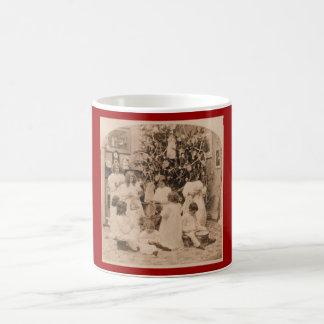 Christmas Children Basic White Mug