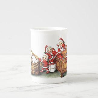 Christmas Children Bone China Mug