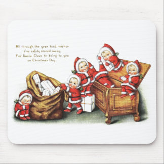 Christmas Children Mouse Pad