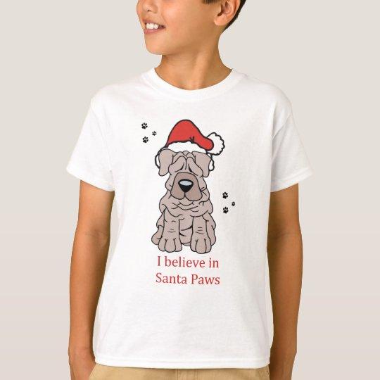 Christmas Chinese Shar Pei T-Shirt