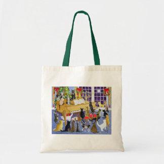 Christmas Chorus Budget Tote Bag