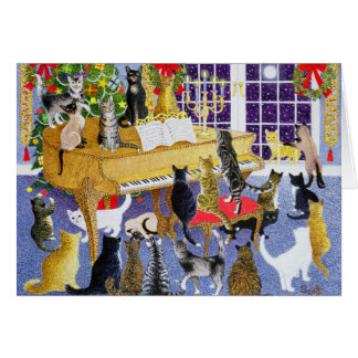 Christmas Chorus Greeting Card