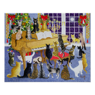 Christmas Chorus Poster