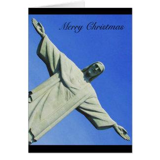 christmas christ greeting card